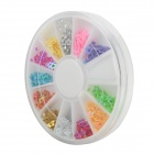 DIY Star Style Nail Art / Decoration Sticker Set Case - Multicolored
