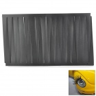 A10 DIY Car Headlight Decoration Eyelash Sticker - Black