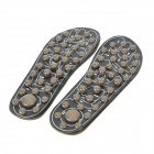 KW-319C Rotatable Massage Insole Pad - Black (Pair / Size 40~42)