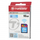 Transcend Wi-Fi SD SDHC Memory Card - Deep Blue (16GB / Class 10)