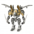 Genuine Sega Spin Master Bakugan Titan Robot Doll Toy - Grey + Golden