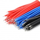 7001 Dual-Head Tin Plated Stripping Connection Cable Set - Blue + Red + Black (90 PCS)