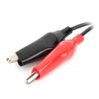Rechargeable 2-Flat-Pin Plug Charger for 6V Lead-acid Battery - Black + Red (AC 100~240V)