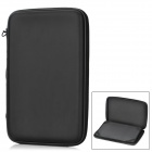 "Multifunction Protective PU Bag Case Stand w/ Speaker / USB for 9.7"" Tablet PC - Deep Blue"