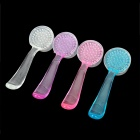 Facial Face Care Cleaning Wash Brushes - Transparent + Blue + Pink + Purple (Random Color)