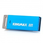 KINGMAX UI-06 USB 3.0 Flash Driver w/ Keychain - Blue + Silver (16GB)