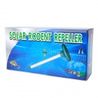 Solar Powered Ultrasonic Wave Rodent / Mosquito-Repellent - Green + Silver