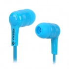 KEEKA KA-13 3.5mm Plug Wired In-Ear Noodle Earphones - Blue (120cm)