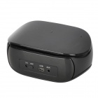 Wireless Bluetooth v2.1 + EDR All Touch Control 3W 2-CH Speaker w/ MP3 / USB - Black