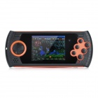 "YSDX-637 Rechargeable 2.8"" TFT Screen Handheld Game Player w/ SD Card Slot - Orange + Black"