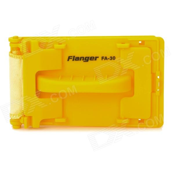 Flanger FA-30 Quick-set Guitar / Bass Cleaner - Yellow lp guitars black 1973 custom guitar yellow binding ebony fretboard end binded one piece neck mahogany free shipping