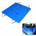SXH-CWd Car Rear Double Seat Protective Pad / Cushion for People / Pet - Blue