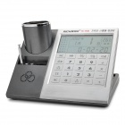 "5-In-1 4.0"" LCD Voice Calculator / Perpetual Calendar / FM / Card Holder / Pen Container (2 x 2 AA )"
