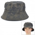 Stilvolle Fischerei Freizeit Bucket Hat Cap - Deep Green