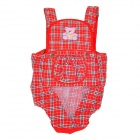 Komfortable Baumwolle Baby Carrier Sling - Red