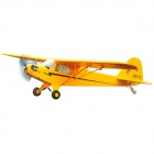 Art-Tech 400 Klasse J-3 4-CH 2.4GHz Radio Control Fixed Wing EPO R / C Airplane Fighter - Yellow