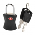 JUST LOCK TSA361 Zinc Alloy TSA-accepted Travel Suitcase Lock - Black