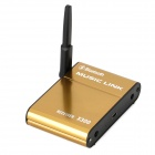 X300 Wireless Bluetooth v3.0 Speaker Adapter / Music Link for Iphone / Ipad - Golden
