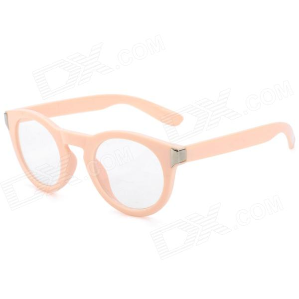 SENLAN M6270 Radiation Protection Resin Lens Decoration / Computer Glasses - Peachy Beige велосипедные перчатки mai senlan m81013