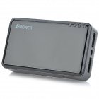 EPOWER EP-5000 Portable Dual USB 5000mAh External Battery Charger w/ LED Torch - Black