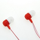 Ditmo DM-5660 Stylish In-Ear Earphones - Red + Black (3.5mm Plug / 120cm)