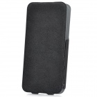 USAMS IP5NZB01 Protective Top-open PU Leather Case for Iphone 5 - Black