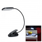 USB-28 USB Powered 28-LED Bending Desk Lamp w/ Clip - Black
