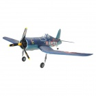 Art-Tech F4U Corsair V2 Fixed Wing 4-CH 2.4GHz Radio Control R/C Model Airplane - Blue