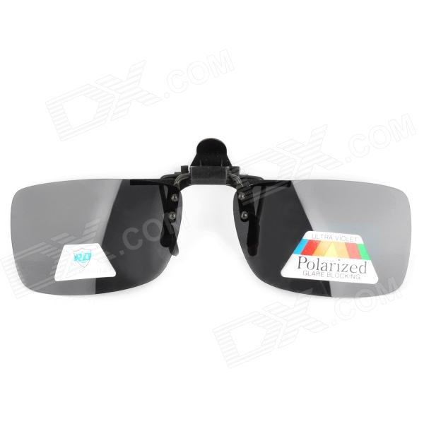 Reedoon 2902 Protection Clip-On Myopia Sunglasses for Driver - Black