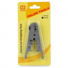 TALON TL-S501B Universal Round / Flat Cable Stripping Tool - Deep Grey + Black
