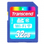 Transcend Wi-Fi SD SDHC Memory Card - Deep Blue (32GB / Class 10)