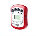 "NUX PG-2 1.5"" LCD Portable Guitar Effect - Red (2 x LR6)"