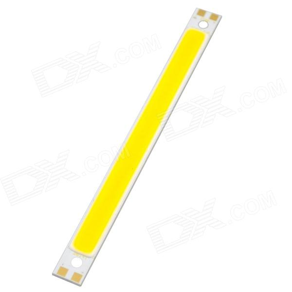 10W 1050lm 3000K 1-LED Warm White Light Ceiling / Spotlight Lamp - Yellow + Silver (DC 12~14V)