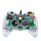 USB Kabel Dual-Shock Game Controller Joystick für Xbox360 / Xbox360 Slim - Transparent (280cm-Kabel)