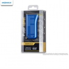 MOMAX BAIPOWER26B 6000mAh Triple-Proof Mobile External Power Battery Pack w/ LED Light - Blue + Grey