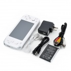 "4.3"" Touch Screen Game Console Media Player w/ 1.3 MP Camera / FM / HDMI /TV-Out / TF - White (4GB)"