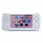 "4,3 ""Touch Screen Spielkonsole Media Player w / 1,3 MP Kamera / FM / HDMI / TV-Out / TF - White (4GB)"