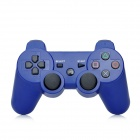 Bluetooth V3.0 Wireless Dual-Shock Game Controller JoyStick for PS3 / PS3 Slim / PS3 CECH4000 - Blue