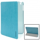 Remax MKAIC-1 Protective PU Leather Case for Ipad MINI - Light Blue