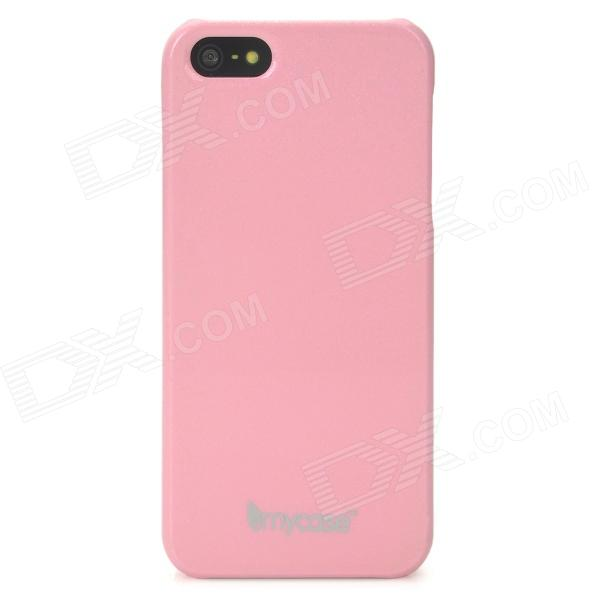MYCASE Color Changing Glow-in-Dark Protective PC Back Case for Iphone 5 - Pink usams crown series glow in dark perfume tpu back case for iphone 6 4 7 green white