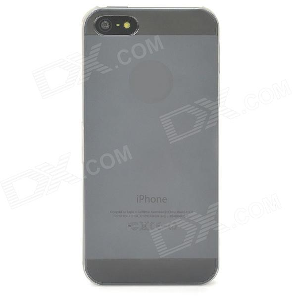 Protective Frosted Plastic Back Case for Iphone 5 - Translucent White s pattern protective plastic case for lg nexus 5 e980 translucent grey