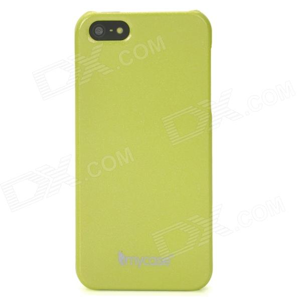 MYCASE Color Changing Glow-in-Dark Protective PC Back Case for Iphone 5 - Green glow in the dark halloween jason full face mask green