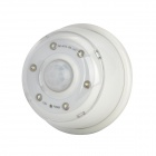 RZD06 0.4W 36lm 6500K 6-LED Cold White Light Auto PIR Induction Lamp