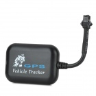LSON TX-5 Portable GPS / GSM / GPRS / SMS Motorcycle Vehicle Tracker - Black