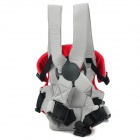 5005 Stylish Multi-Position Infant Baby Harness Carrier - Red + Grey + Black
