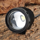 Buy RUSTU D67 700lm 3-Mode White Zooming Bike Headlamp Cree XM-L T6 - Black (4 x 18650)