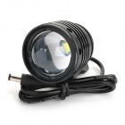 RUSTU D67 700lm 3-Mode White Zooming Bike Headlamp w/ Cree XM-L T6 - Black (4 x 18650)