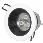 3W 350lm 3500K Warm White Anti-dazzle Lamp (110~240V)