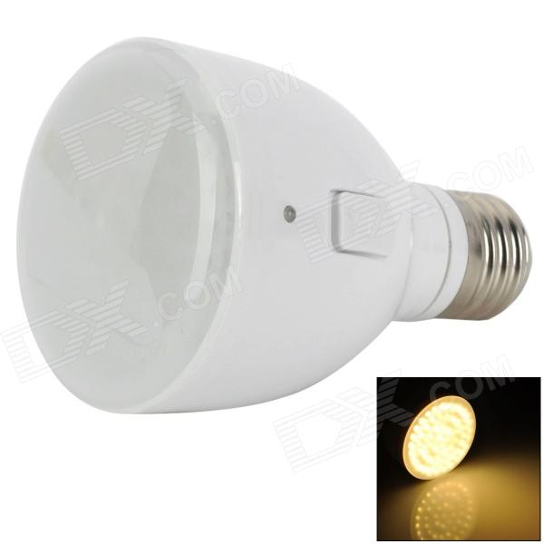 E27 4W 240lm Rechargeable 50-LED Warm White Emergency Lamp (85~265V) парктроник parkmaster 4 dj 27 27 4 a white