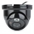 "Loosafe LS-Z366S 1/3"" CCD 300KP Wired Surveillance Security Camera w/ 1-IR Array LED - Black"